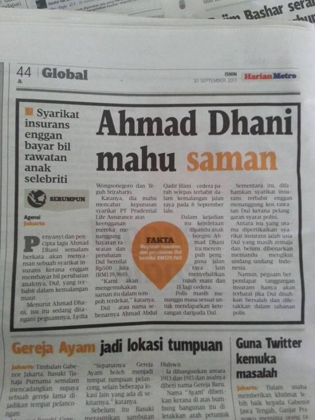 keratan akhbar